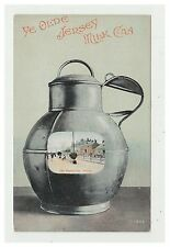 Jersey postcard - Ye Olde Jersey Milk Can (The Esplanade) - Novelty