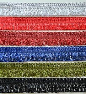 Beautiful decorative looped fringe braid trim 30 mm sewing crafts 18 colours