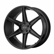 "KMC 20x9 KM711 Prism Wheel Satin Black 5x4.5 / 5x114.3 PCD +35mm Offset 6.38""BS"