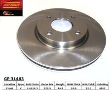 Disc Brake Rotor fits 2007-2014 Nissan Cube Sentra Versa  BEST BRAKES USA