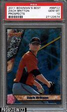 2011 Bowman's Best Prospects Zach Britton Baltimore Orioles PSA 10 GEM MINT