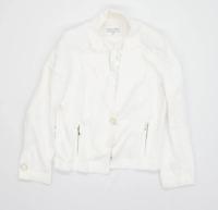 Per Una Womens Size 16 White Blazer Jacket