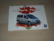 57250) Peugeot Expert Tepee Pressemappe 01/2007