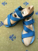 Louis Vuitton Mens Sandals Thongs Flip Flop Blue Shoes UK 9 10 US 10 11 EU 43 44