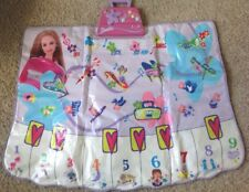 Barbie Dance Mat, Music Mat, Piano Keys - Hip Hop - Latin - Rock - Mattel