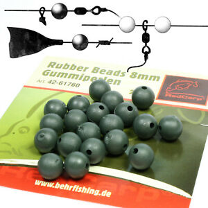Gummiperlen Angelperlen Karpfenangeln Rubber Beads Angelzubehör Hohe Qualität