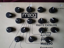 Moog Prodigy Set of 16 New Old Stock Rotary Knobs