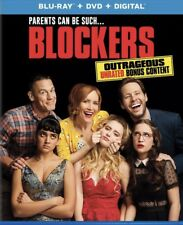 BLOCKERS Blu-ray & DVD 2 Disc Set NO DIGITAL CODE Case Slipcover