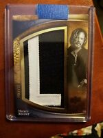 "2009 UD Icons MICKEY ROURKE Movie Icons Lettermen #37/61 letter ""L"""