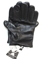 """NEW WILSONS LEATHER """"THINSULATE"""" XL MEN'S LEATHER TEXTING GLOVES: BLACK"""