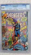 Avengers #92 CGC 9.4 NM