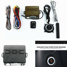 D-Type Car Alarm System Induction Control Engine one - Button Start Push Remote