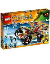 LEGO Legends Of Chima 70135 Craggers Fire striker Set New In Box Sealed 380 PC