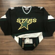 CCM Center Ice Authentic Dallas Stars NHL Hockey Jersey Vintage 1995 Black 52