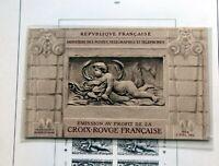 FRANKREICH 1952/2001 Rot-Kreuz Markenheftchen postfrisch komplett Hoher Wert