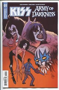KISS/ARMY OF DARKNESS #1 - KYLE STRAHM COVER A - DYNAMITE ENTERTAINMENT/2018