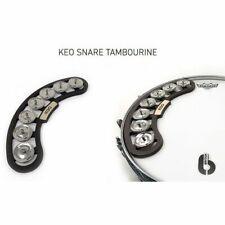 Keo Percussion Snare Tambourine 7 Pairs Jingle