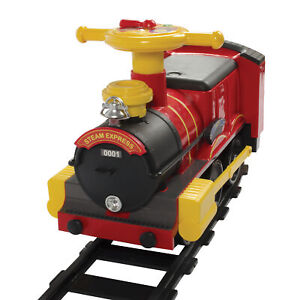 Rollplay Steam Train 6-Volt Battery Ride-On Vehicle (Red)