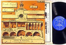 COLUMBIA MASTERWORKS BLUE Mozart CASALS Eine Kleine Nachtmusik PERPIGNAN ML-4563