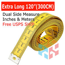 """Yellow 120"""" Body Measuring Ruler Sewing Cloth Tailor Tape Measure Seamstress"""