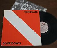 Van Halen - Diver Down 1st Press Greek 1982 Vinyl LP +Insert WB ORG Rare VG+/VG+