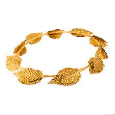 Gold Laurel Leaf Headband Crown Roman Goddess Costume Accessories