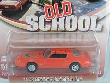 PONTIAC FIREBIRD OLD SCHOOL FILM 1977 CAR 1/64 SCALE GREENLIGHT EXAMPLE T312Z(=)