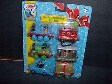 Christmas Thomas & Friends Sodor Holiday Parade Train Set Factory Sealed RARE!