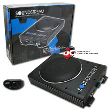 "SOUNDSTREAM USB-8A 8"" UNDER SEAT PRELOADED ENCLOSED SUBWOOFER WITH AMPLIFIER"