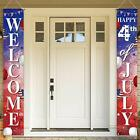 4th of July Door Banner for Party Decorations American Flags Patriotic