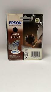 Epson T0321 Original Druckerpatrone Schwarz in OVP - A252