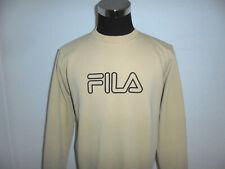 vintage FILA sweatshirt pullover 90s oldschool sport 90er jumper beige XL