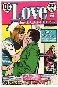 LOVE STORIES #152 DC COMICS ROMANCE 1973 VG+