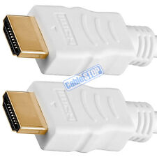 5 METRE 4K Ultra HD 2160p HDMI Cable ARC 3D White 5m