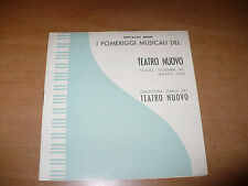 SPETTACOLI ERREPI POMERIGGI MUSICALI TEATRO NUOVO 1946 FERNANDO PREVITALI PREDIT