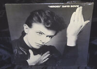 David Bowie Heroes Sealed Vinyl Record Lp Album USA 1977 1st Press Promo