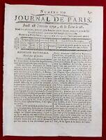 Haïti 1791 Maisons de Jeux Port au Prince Saint Domingue Possel Rennes Toulon