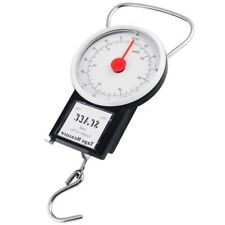 32KG PORTABLE TRAVEL SUITCASE BAGGAGE LUGGAGE WEIGHING SCALE MECHANICAL WEIGHT