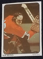 1974/75 - KEN DRYDEN - NHL - MONTREAL CANADIENS - LIPTON SOUP - HOCKEY CARD #19