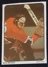 1974/75 - KEN DRYDEN - NHL - MONTREAL CANADIENS - LIPTON SOUP - HOCKEY CARD #19