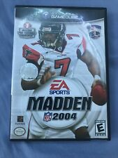 Madden Nfl 2004 (Nintendo GameCube, 2003) Cib Tested And Working Free Shipping