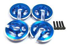 Aluminum Shock Spring Cups Blue 4 pcs For Traxxas X-Maxx 7076-4 Dhawk Racing