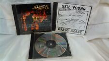 Neil Young With Crazy Horse Sleeps With Angels, Zuma, Broken Arrow 3 CDs cd4276