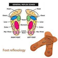 1*Paar Magnetfeldtherapie Schuh-Einlegesohlen Massage desodorierend Schuh Sohle