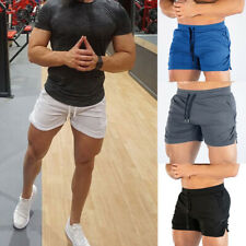 Men's Gym Shorts Training Running Sports Workout Jogging Pants Trousers Casual