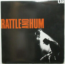 U2 Rattle And Hum 1988 CANADA ORG LP Translucent VIRGIN Vinyl Minty! Bono EDGE