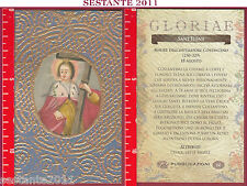 C59 SANTINO HOLY CARD S. SANT'ELENA ELENA MADRE COSTANTINO IMPERATORE 18 AGOSTO