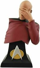 "Star Trek Captain Jean-Luc Picard Facepalm 8"" Bust Limited Edition Collectible"