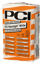 PCI nanolight blanc 15 kg plus léger variable MORTIER Flex Colle de carrelage