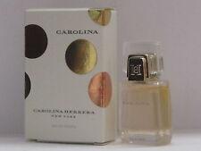 Carolina by Carolina Herrera Perfume Women 0.13 oz Eau de Toilette Splash Mini